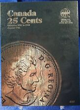 Whitman Canada 25 Cent VOL #5 2001-2009 Coin Folder, Album Book #4087