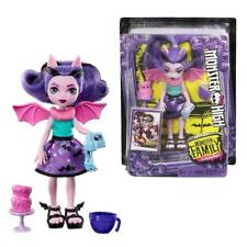 "MONSTER HIGH FANGELICA SIBLINGS FAMILY MINI 5.5"" FASHION DOLL TOY"