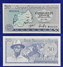 Rwanda 1976 , 50 Francs UNC