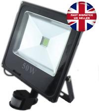 LED Floodlight PIR 50W Motion Sensor Outdoor Flood Lights Warm White