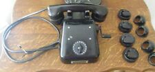 1940'S SHIPS BRIDGE TELEPHONE WITH 17 STATIONS SALVAGE ITEMS WITH EXTRAS SCARCE