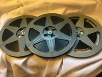 "16mm COLOR SOUND FEATURE - ""LOST YEARS OF JESUS"" 3 X 1600' Reels (1977)"