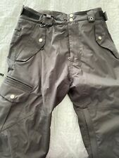 686 Men's Black Smarty Snowboard, 3-in-1 Insulated Pants, Sz M