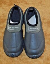 Statesman Childs size 1  Muck Shoes Waterproof Rubber Camp black and green NWT