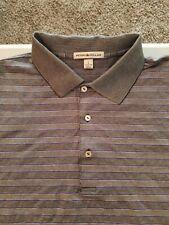 Men's Peter Millar Short Sleeve Polo Shirt Size L