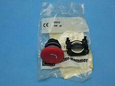 Cutler Hammer E22ll2 Push Button Operator 225mm Red 40mm Mushroom E Stop Twist