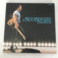 *RARE* Vintage 3 Cassettes - Bruce Springsteen E Street Band Live 1975-1985