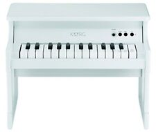 KORG Tiny Piano White Digital Toy Piano 25 Key From Japan