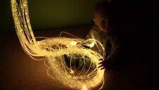 Fibre ottiche sensoriale CABLAGGIO LUCI 2 mm FLESSIBILE (50x150cm) autismo, Bambini