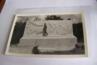 Rare Antique Vintage RPPC Real Photo Postcard Lincoln Memorial Vincennes Indiana