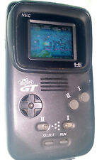 Pc-Engine Gt Black Turboexpress Handheld System Recapped Japan 3 games ! Pce ■■■