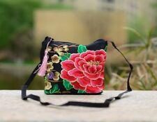 5X MINI Flower Embroidered Folk-Custom Single Shoulder Bag Hippie Bag
