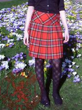 """Royal Stewart Tartan Skirt - Long (18"""") Button Skirt, Size 6 - 16"""