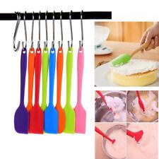 4PCS Heat Resistant Flexible Silicone Spatulas Cake Spatula Baking Scraper
