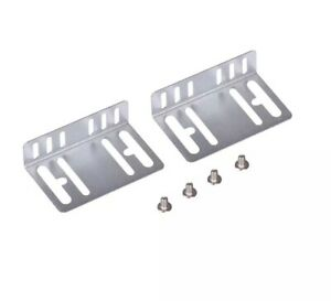 Car radio stereo double Single din fitting mounting Side Brackets kit + Screws