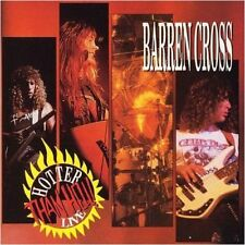 BARREN CROSS - Hotter Than Hell  (Live) CD