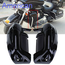 Lower Vented Leg Fairings Glove Box For Harley Touring Road King Electra Glide