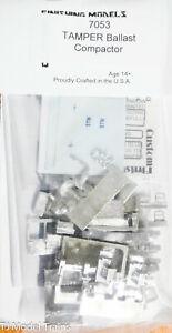 Custom Finishing Models HO #7053 TAMPER Ballast Compactor (Kit) Pewter