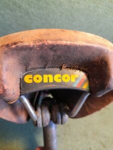Vintage San Marco Concor Supercorsa Saddle in pinky/red