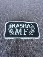 "Vtg Kasha MF Massey Ferguson Patch 4"" Farm Tractor Equipment Saskatchewan"