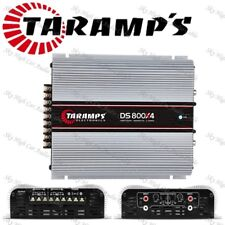 Taramps Ds800X4 1 Ohms 4Ch X 200 Class D (Ships Fast From Usa) Usa Warranty