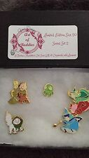 Art Of Buddies Disney Fantasy Mini Pin LE 50 Box Set Aurora Vanellope  Belle