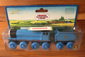 1995-1996 Learning Curve Thomas Train Wooden Gordon! NEW