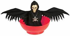 Halloween Animated Skull With Wings Bowl Tableware Party Decoration Accessory