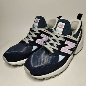 New Balance 574 Lifestyle Sneaker MS574GNA Athletic Shoes Mens 9.5 Navy Blue