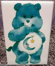 "Bedtime Bear 2"" x 3"" Refrigerator Locker MAGNET Care Bears 80's Vintage"