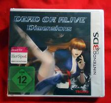 Dead or Alive: Dimensions - Nintendo 3DS / 2DS - 2011 - NEU / B-Ware