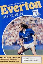 Everton v Coventry City Division 1 08-09 1984