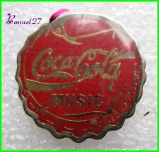 Pin's pins Badge Coca Cola MUSIC #H3