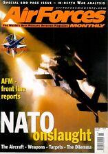 AIR FORCES MONTHLY 6/99 NATO RCAF CANADA CF-18 KOSOVO / BALKANS F-117 SHOOTDOWN