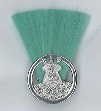 SCOUTS OF LESOTHO - SCOUT LEADER / MASTER (GREEN COLOUR) Metal Plume / Hat Patch