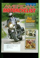 2007 American Motorcyclist Magazine: 2008 H-D CV0 Road King Cover/Ride Smarter