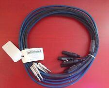 Whirlwind Multitrack 12 XLR Female - 12 TRS Male 50ft Audio Fan to Fan Snake