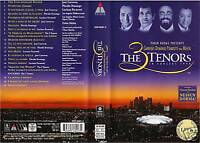 (VHS) The 3 Tenors, In Concert - José Carreras (1994)