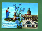 CARTOLINA BERGAMO SANTUARIO B.V di CARAVAGGIO postcard-carte postale cartoline