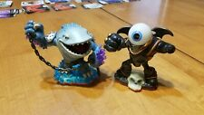 Skylanders Giants LOT 2 Eye Brawl Thumpback Character Figure DAMAGED READ
