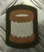 Genuine British Military Issue Embroidered Bandsman Patch Musicians Drummer NEW