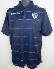 BNWT Macron Leeds United Football Shirt Away 2014-16 Soccer Jersey Mens Medium M