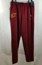 Nike Men's Cleveland Cavaliers Cavs NBA Warmup Pants Size 2XL Tall Maroon