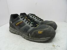 Caterpillar Men's Tuffnet Ease Knit CTCP Saftey Work Shoe Grey Size 12W