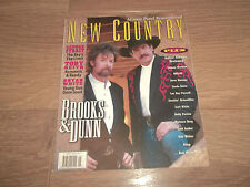 NEW COUNTRY MAGAZINE MAY 1996 BROOKS & DUNN / TOBY KEITH / BRYAN WHITE