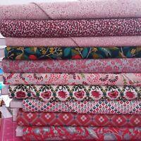 Makower London Skyline Cream Cotton Fabric by the FQ 110cm wide
