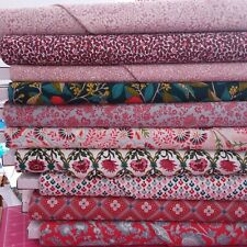 Liberty Summer House RED Cotton Fabric, per 25cm 110cm wide, Ideal for Quilting