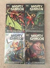 Mighty Samson Volumes 1 - 4  Hardcover Books - Dark Horse Archives - Sealed