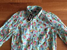 Gitman Bros x Opening Ceremony NEW Toucan Floral Oxford Shirt S Small $190