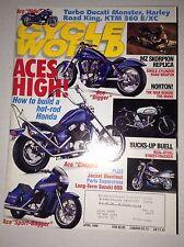 Cycle World Magazine MZ Skorpion Replica Ducati Monster April 1996 041917nonrh2
